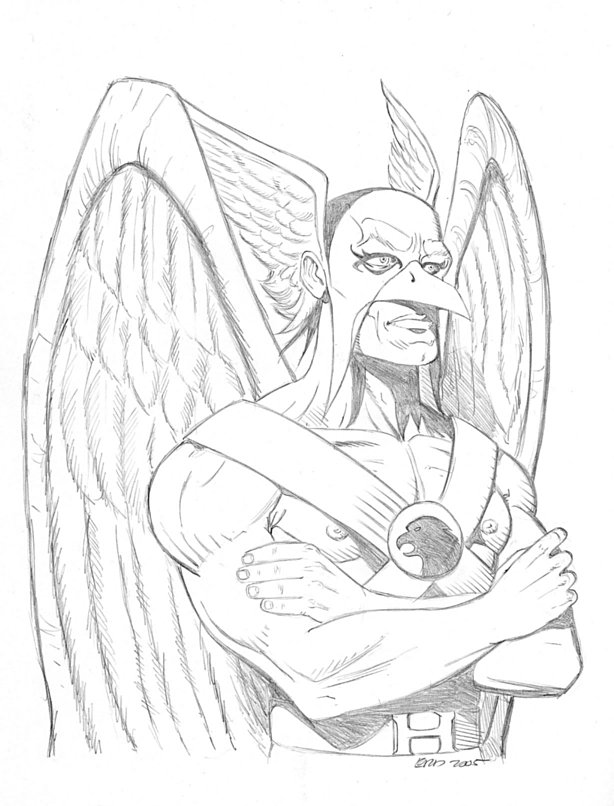 hawkman coloring pages - photo#29